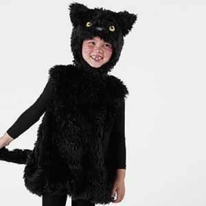 Pottery barn Kids black cat costume